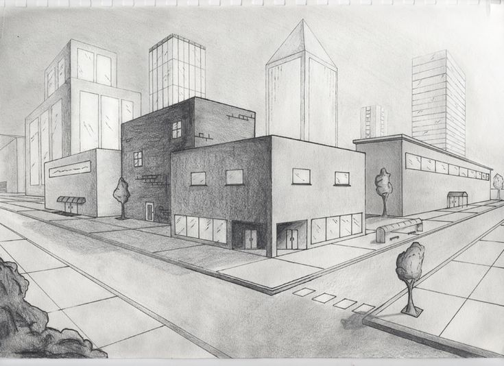Perspective Drawings Of Buildings a 2 point perspective drawing, a great inspiration 12/20/16, i