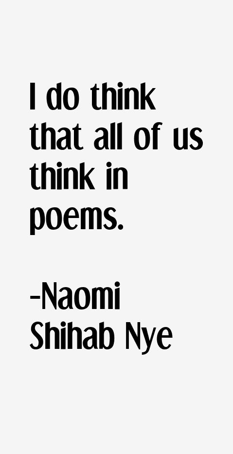 naomi shihab nye poems - Google Search