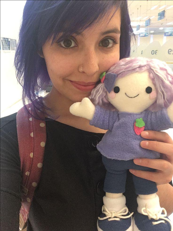 """Muñecos personalizados de la tienda """"Batido de Frutilla"""""""