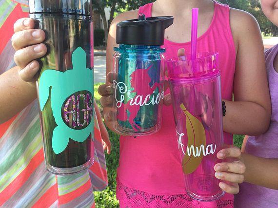 Super Cute Personalized Kids 10 oz. Water Bottle personalized