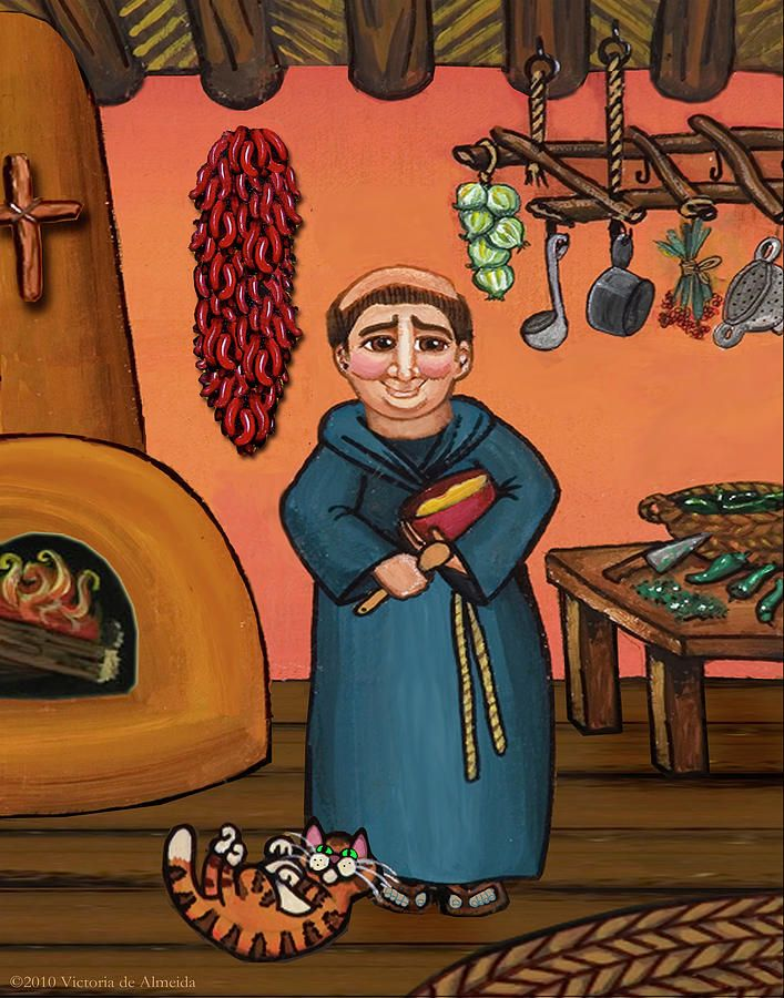 San Pascual And Vigas Painting by Victoria De Almeida - San Pascual And Vigas Fine Art Prints and Posters for Sale