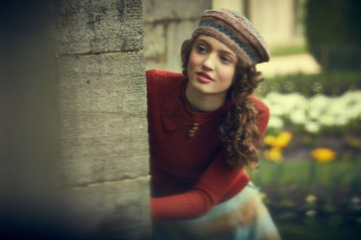 Muriel Mothershead. Our Zoo BBC drama set in thirties. Love the knitwear.