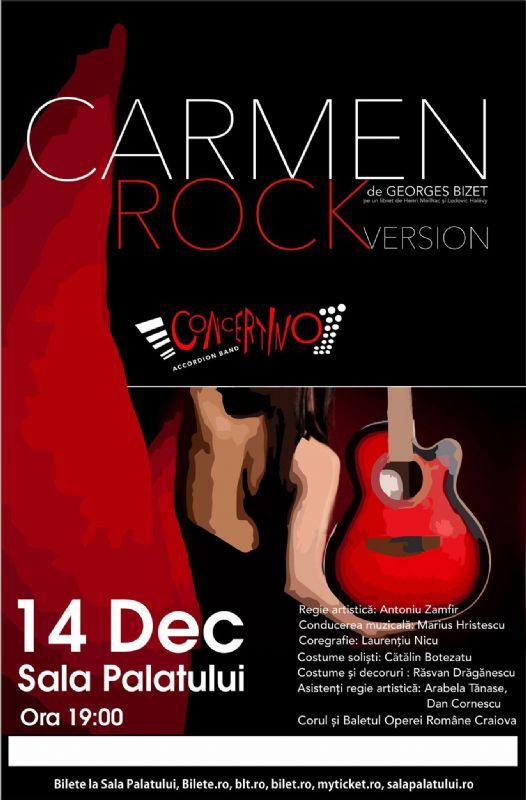 Carmen - Rock Version 14 Dec 2016