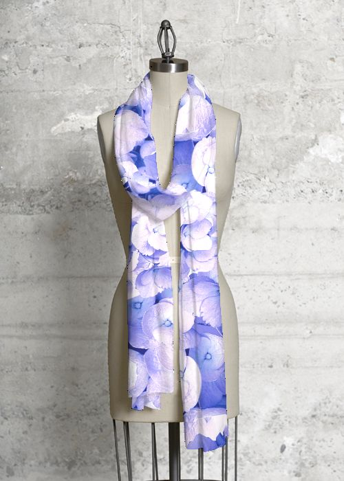 Silk Square Scarf - Dive in blue by VIDA VIDA l2V7aJJ