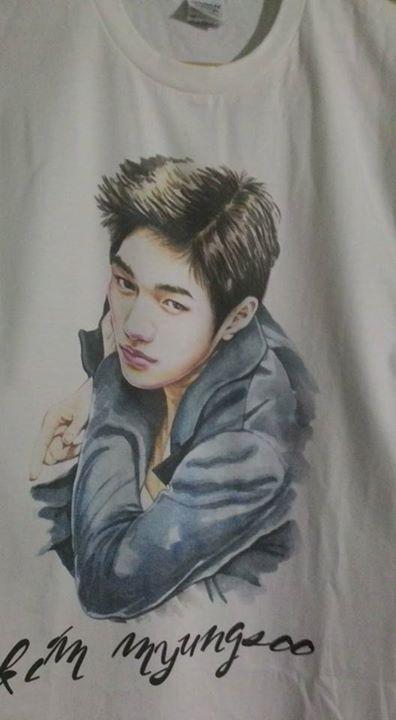 Kim Myungsoo DTG A3 - size: M Gildan