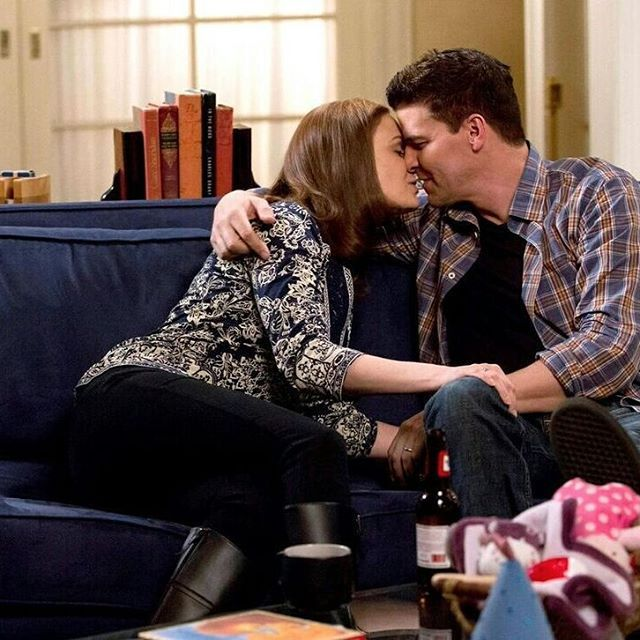 bones booth and brennan hook up What episode of bones is the one where bones and booth hook up  what is the name of the episode of bones where booth pushes brennan up against a wall.