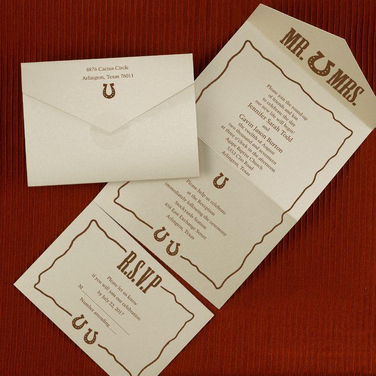 34 Best SEAL 'n SEND WEDDING INVITATIONS Images On
