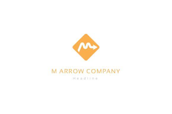 M arrow company logo. by anton.akhmatov on @creativemarket