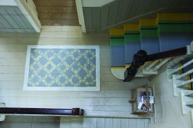 Painted Rug & Stairs 1 from Farrow & Ball