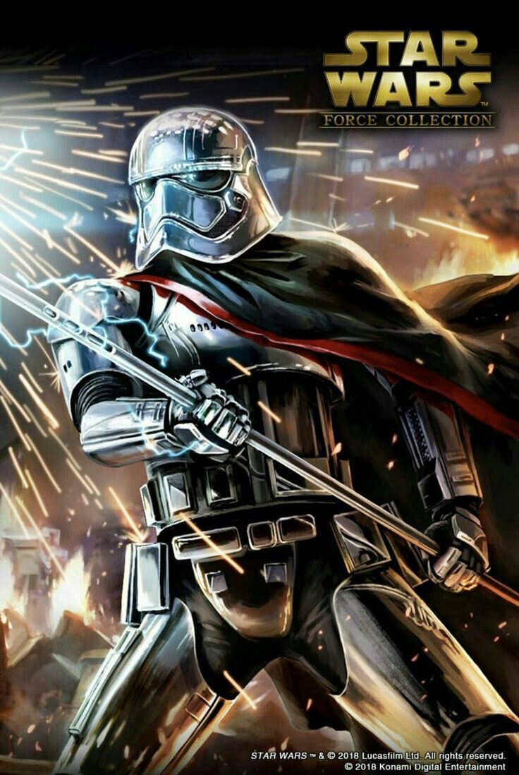 Captain Phasma Star Wars History Star Wars Force Collection Finn Star Wars