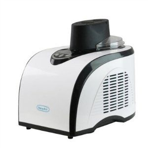 NewAir AIC-210 Commercial Grade 1 Quart Ice Cream & Sorbet Maker by NewAir. $199.95. Makes ice cream, sorbet, frozen yogurt and other frozen desserts. Produces consistently smooth results every single time. Commercial-quality unit lets you make ice cream just like the pros do!. Features clean, white finish that complements any kitchen. Built-in compressor/freezer means there's no bowl to pre-freeze. What's more delicious than a quart of homemade ice cream on a hot summer...