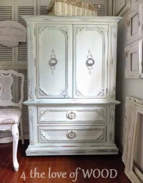 4 The Love Of Wood FRENCH ARMOIRE Dining Room