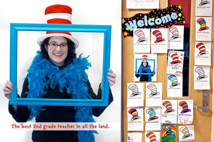 "Dr. Seuss Themed Teacher Appreciation Week - ""Hats Off to our Teachers!"" Decorations + Printables"