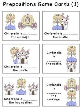 Cinderella & Seriously, Cinderella Is So Annoying Companio prepositions