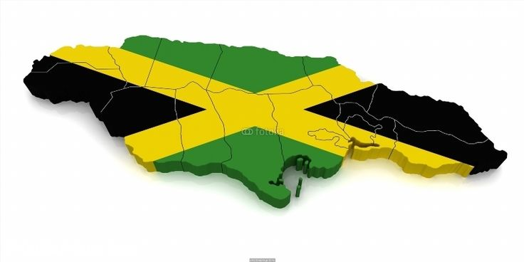 Poster of 3D Map of Jamaica, World Map Poster, #poster, #printmeposter, #mousepad, #tshirt