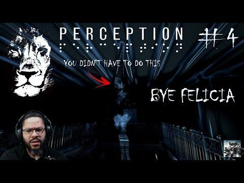 Perception #4 (FELICiA Done gone and Hung Herself Whyyyyy..) https://youtube.com/watch?v=gq8MGpYYbHs
