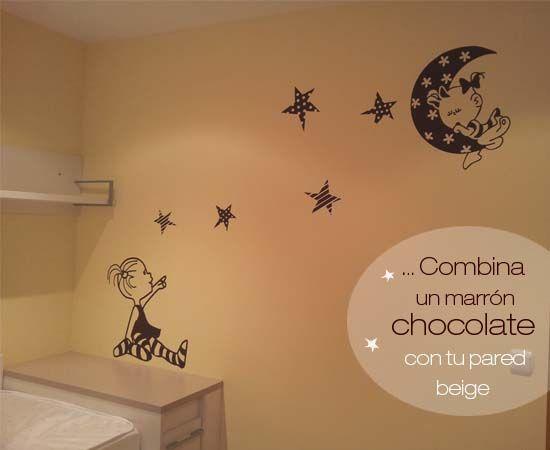 Una nueva decoraci n con vinilos beb de vinilvip bonita for Vinilos pared habitacion bebe