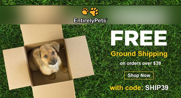 EntirelyPets Free Shipping On All Order Over 39. pets