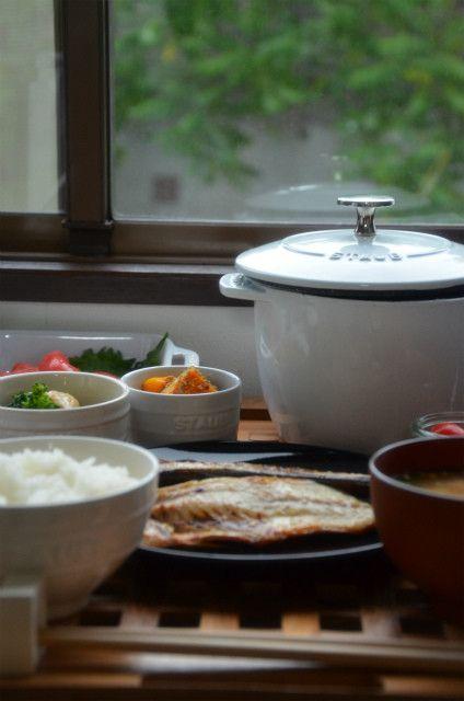 ストウブで「朝ごはんみたいな晩ごはん」あのココハンM炊飯もやってみた!|ジュンジュンの「おいしいモン」