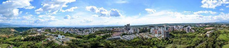 Vista Panorámica de Armenia.