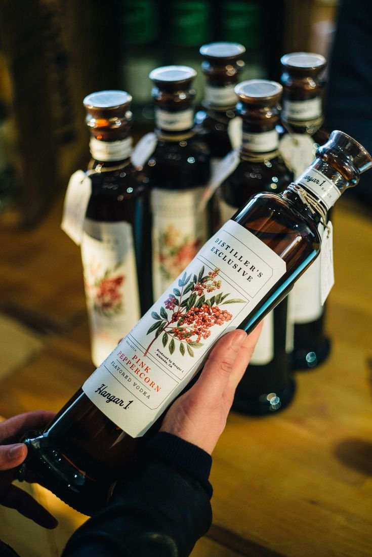 The Taste SF picks up pink peppercorn vodka at the Hangar 1 Vodka Distillery in Alameda for a tour and tasting