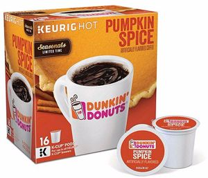 $1.00 off Dunkin Donuts Pumpkin Spice K Cup Coupon on http://hunt4freebies.com/coupons