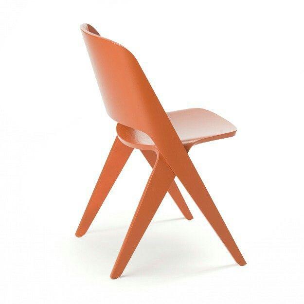 Copper Orange Lavitta Chair