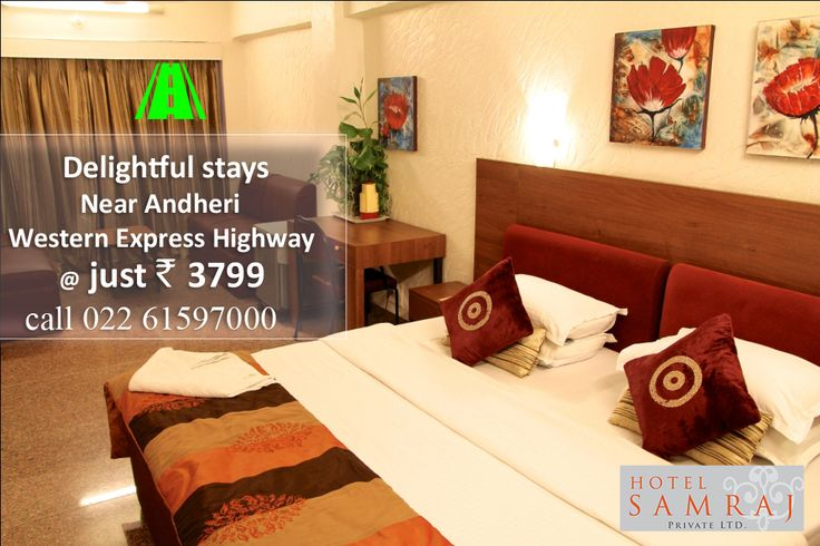 HOTEL SAMRAJ  ANDHERI East - CHAKALA For Reservations Call : 022 61597000 *Quoted price is exclusive of any taxes ‪#hotels #hotel #inn #stay #rooms #room #beststay #bestprice #checkin #checkins #oyorooms #economical #stays #CheckInToOyo #HotelBooking #trivaGoOut #offers #trivago #travel #motel #lodge #airbnb #couchsurfing #makemytrip #trip #holidays #vacations #happystays #luxury ‪#westernexpresshighway