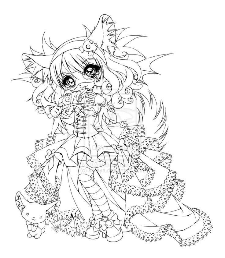 anime coloring pages deviantart dart - photo#17