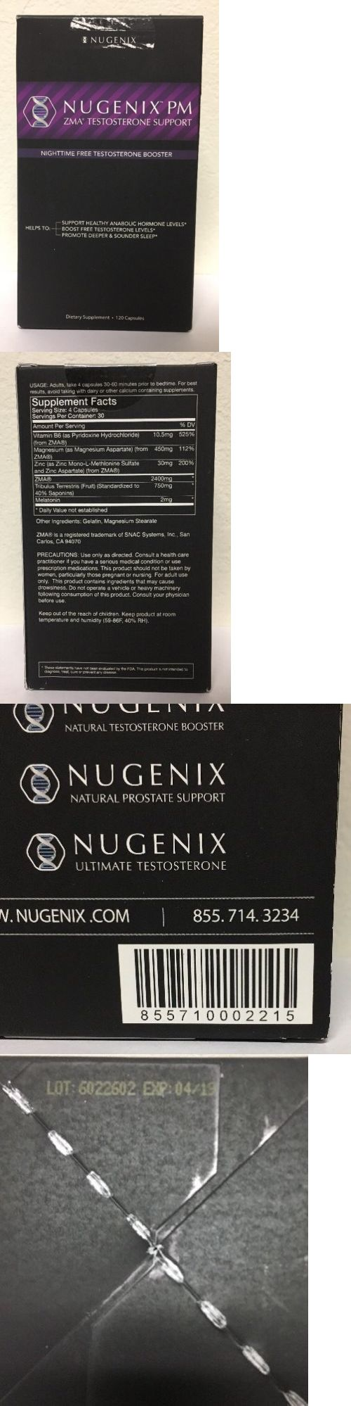 Other Vitamins and Supplements: (New) Nugenix Nugenix Pm Zma Testosterone Support - 120 Capsules -> BUY IT NOW ONLY: $33.49 on eBay!