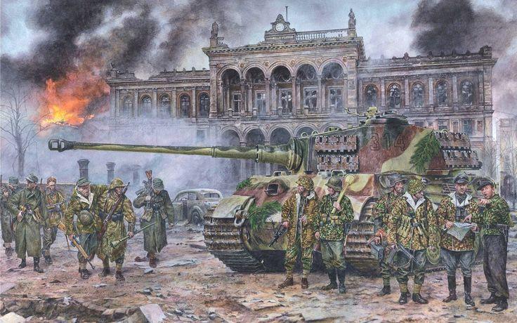 Testimonios de tanquistas alemanes en la Batalla de Berlín | Todo sobre la Segunda Guerra Mundial