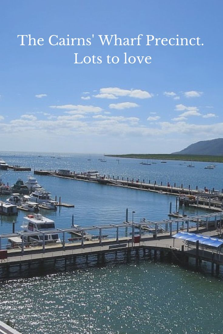 The Cairns' Wharf Precinct is wonderful place for families to stay, dine and play
