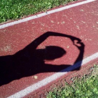 """Long jump<3  Brittany Reese once said, """"If you can still taste sand in your mouth as the sun goes down, you know it's been a good day."""" Story of my life- I LIVE in the sandpit, especially in the summer. #trackislife"""