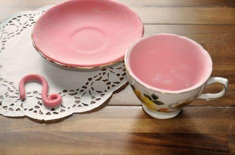 How to Make an Edible Teacup & Saucer!