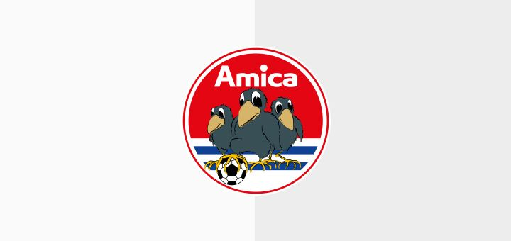 Amica Wronki | Beautiful football emblems | Pinterest