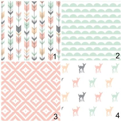 Girl Themed Nursery Bedding - - Little Arrow PInk Deer - Crib Bedding Sets - Boppy Cover and Pillow Covers available aso