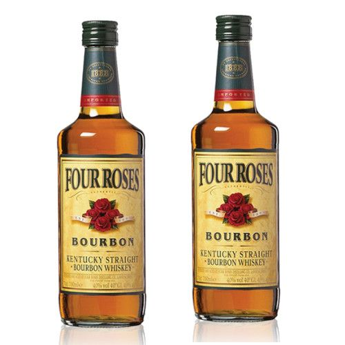 Whisky Bourbon Four Roses 70 Cl 40º - LOT DE 2