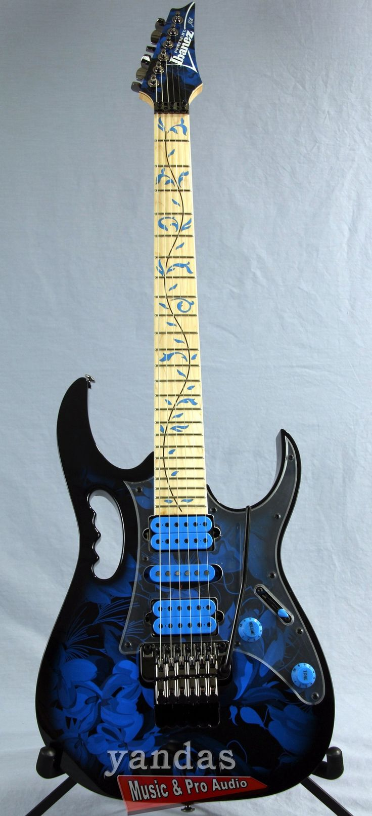 Ibanez JEM77PBFP Steve Vai Signature Electric Guitar