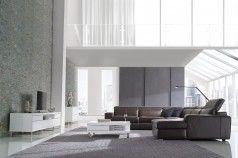 Modern Leather Modular Lounge | Gainsville Furniture Melbourne