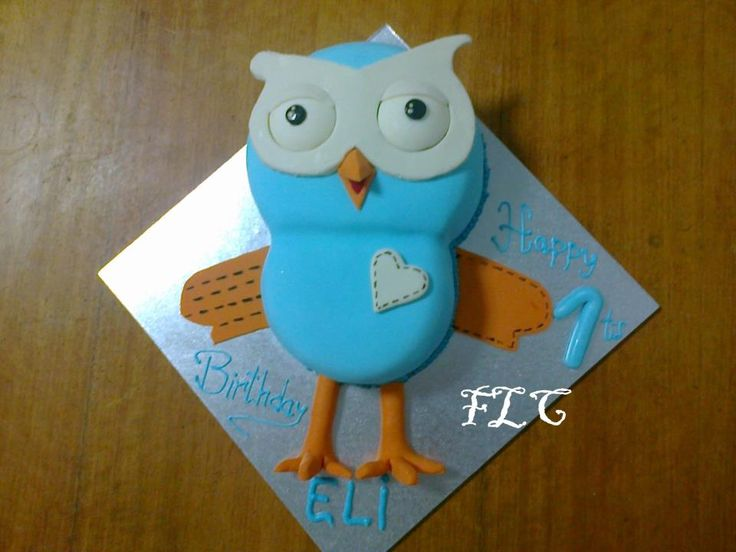 Hoot without Giggle cake