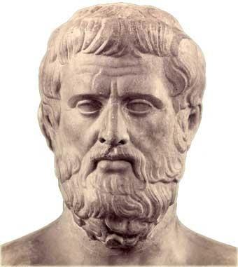 CARLOS: Sòfocles (497 aC). Era de Colono (Grècia) i amb Èsquil i Eurípides és una de les figures més destacades de la tragèdia grega.