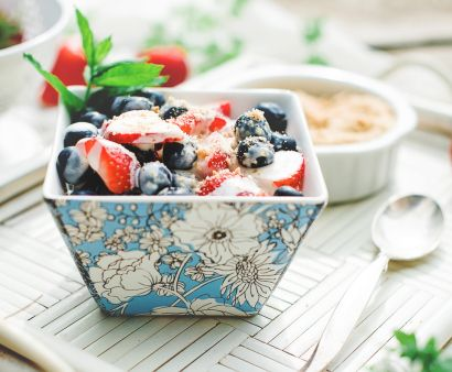 Summer Berry Salad with Sweet Cream Cheese Dressing | Salads ...