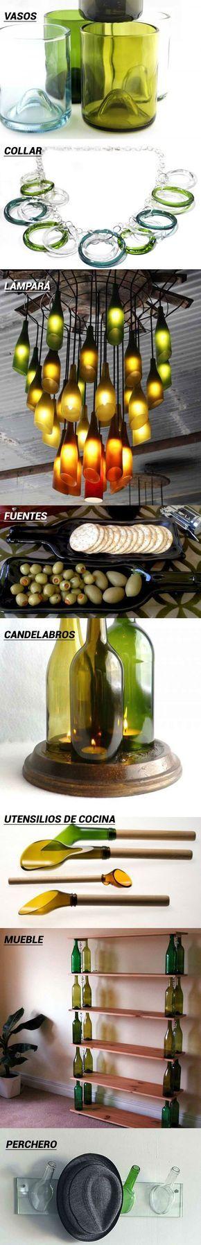 8 ideas para reutilizar las botellas de vino usadas https://www.vinetur.com/2014121217696/8-ideas-para-reutilizar-las-botellas-de-vino-usadas.html