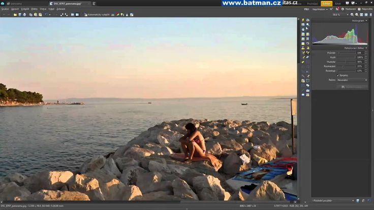 Zoner Photo Studio - Panorama