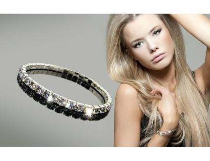 $15 Swarovski Elements crystal bracelet + free shipping from Dillyeo ($60 value)