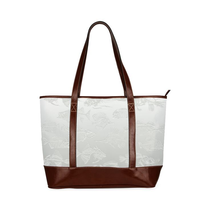 FOSSIL FISH WHITE Tote Handbag (Model 1642) Designed by Krydy $ 46.90 #ootd #outfitoftheday #lookoftheday #TagsForLikes #TFLers #fashion #fashiongram #style #love #beautiful #currentlywearing #lookbook #wiwt #whatiwore #whatiworetoday #ootdshare #outfit #clothes #wiw #mylook #fashionista #todayimwearing #instastyle #TagsForLikesApp #instafashion #outfitpost #fashionpost #todaysoutfit #fashiondiaries #cristinaguggeri #krydy #sneakerfreak #sneakerporn #shoeporn #fashion #swag #instagood