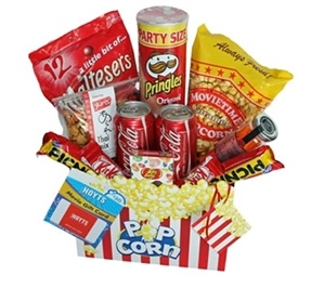 Ultimate Movie Gift Box. @Hobby Hampers