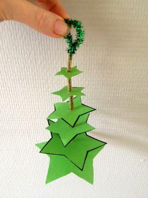 zelfgemaakte kerstversiering - Lespakket