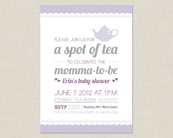 62 best images about baby shower invitation ideas – Bridal Shower Invitations Tea Party Theme