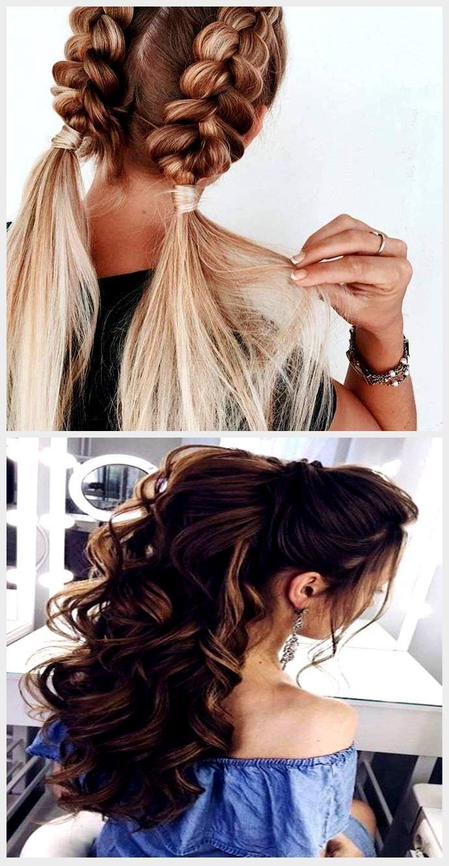 ▷ 10 + schnelle und leichte Frisuren zum Nachstylen, #Frisuren